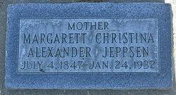 Margarett Christina <I>Alexander</I> Jeppsen