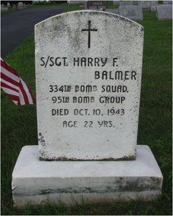 SSGT Harry F. Balmer