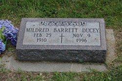 Mildred Immaculata <I>Barrett</I> Ducey