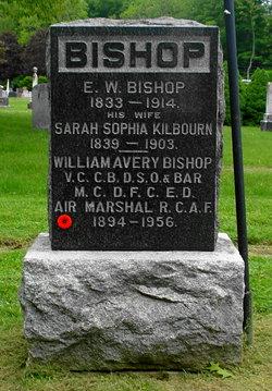 Sarah Sophia <I>Kilbourn</I> Bishop