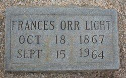 Frances Jane <I>Orr</I> Light