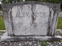 "Josephine ""Josie"" <I>Dunn</I> Alexander"