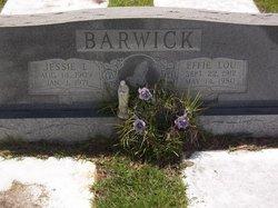 Effie Lou <I>Hutcheson</I> Barwick