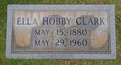 Ella <I>Hobby</I> Clark