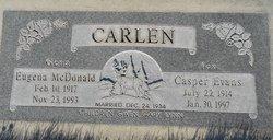 "Casper Evans ""Tex"" Carlen"