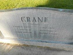 Gladys Irene <I>Pfeiffer</I> Crane