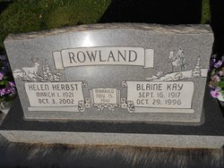 Blaine Kay Rowland