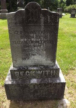 Elizabeth <I>Ingersoll</I> Waterman