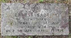 Sgt Ernest Baxter