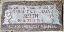 Infant Twin Daughters Smith