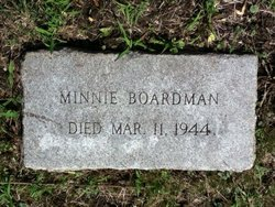 Minnie Boardman