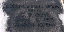Florence Idell <I>Mount</I> Olive