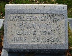 Kathleen <I>Northup</I> Browning