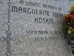 Marguerite <I>Weber</I> Hoskin