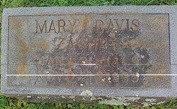 Mary <I>Davis</I> Zachry
