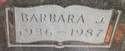 Barbara J. <I>Holloway</I> Gibson