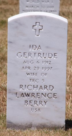 Ida Gertrude Berry
