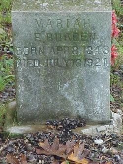 Mariah Ellen <I>Renfrow</I> Burden