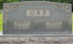 Henry W Orr