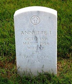 Annette I <I>Brier</I> Cyr