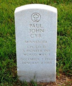 Corp Paul John Cyr