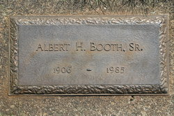 Albert H Booth, Sr
