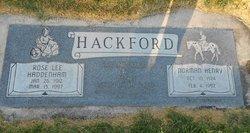 Rose Lee <I>Haddenham</I> Hackford