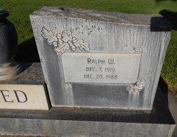 Ralph Whitney Reed