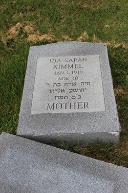 Ida Sarah Kimmel