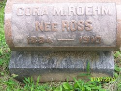 Cora May <I>Ross</I> Roehm