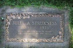 Julia A Struxness