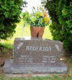 Charlotte Lucille <I>Severson</I> Anderson