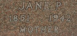 "Jane Wood ""Jeanne"" <I>Parker</I> Wells"