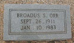 Broadus S Orr
