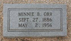 Minnie <I>Bagwell</I> Orr