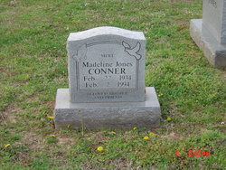 Madeline <I>Jones</I> Conner