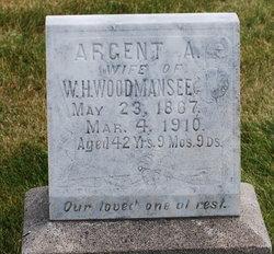 Argent Adaline <I>Davis</I> Woodmansee