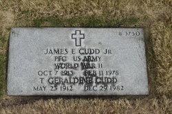 James Edward Cudd, Jr