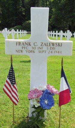 PFC Frank C Zalewski
