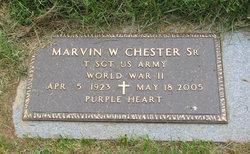 Marvin W Chester, Sr