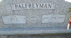 Anna Marie <I>Creer</I> Palfreyman