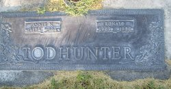Annie Shaw <I>Napier</I> Todhunter