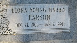 Leona <I>Young</I> Larson