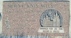 Shauna Ruth <I>Jones</I> Miles