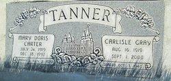 Mary Doris <I>Carter</I> Tanner