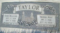 Erma <I>Belliston</I> Taylor