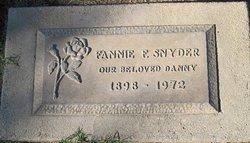 Fannie F Snyder