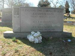 Alice Kathleen <I>Hepler</I> Ervin