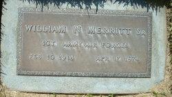 Sgt William N Merritt, Sr