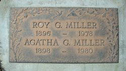 Agatha G Miller